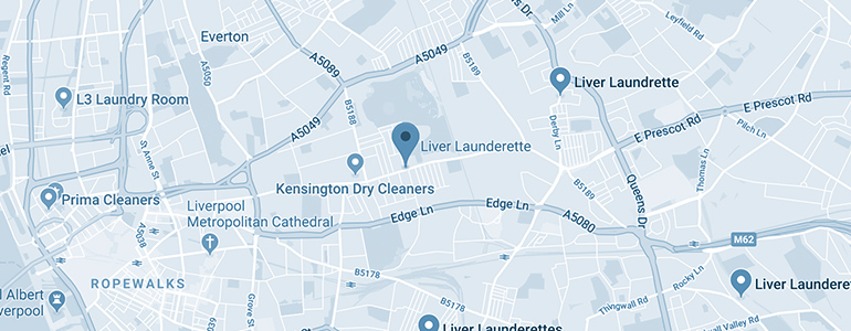 liver launderette map